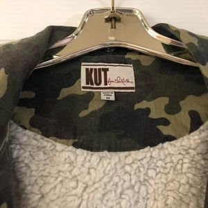 Kut from Kluth Camouflage Sherpa lined jacket